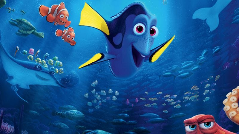 Finding Dory (Not pictured: Reel Big Fish)