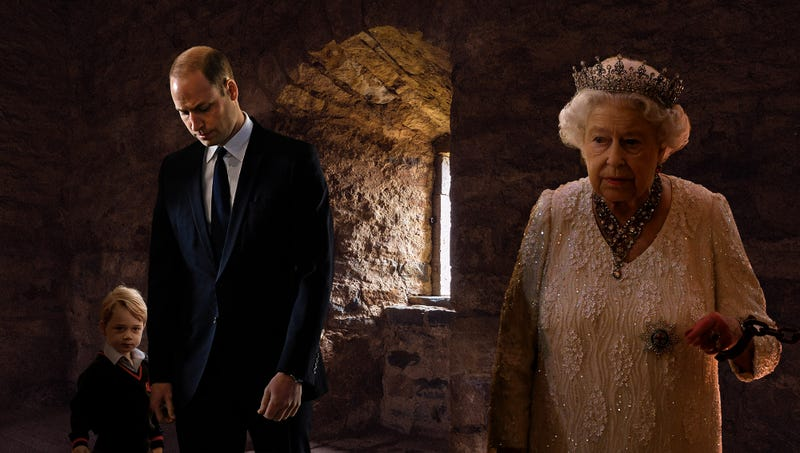 Illustration for article titled Newborn Prince Of Cambridge Begins Consolidating Power By Having Family Imprisoned In Tower Of London