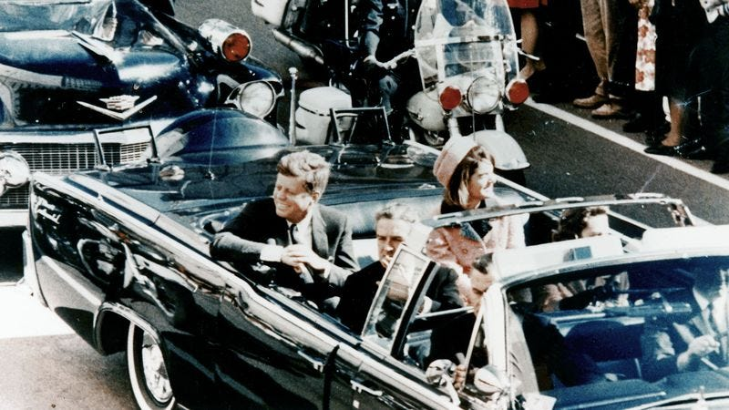 Illustration for article titled I'll Always Remember Exactly Where He Was When JFK Was Shot
