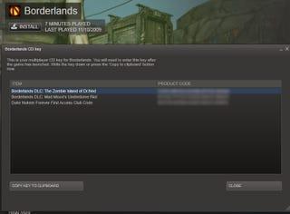 Illustration for article titled Looks Like All Steam Borderlands Owners Get Duke Nukem Forever Access