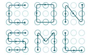 Illustration for article titled Sin sorpresas: la gente usa patrones de desbloqueo demasiado fáciles en Android