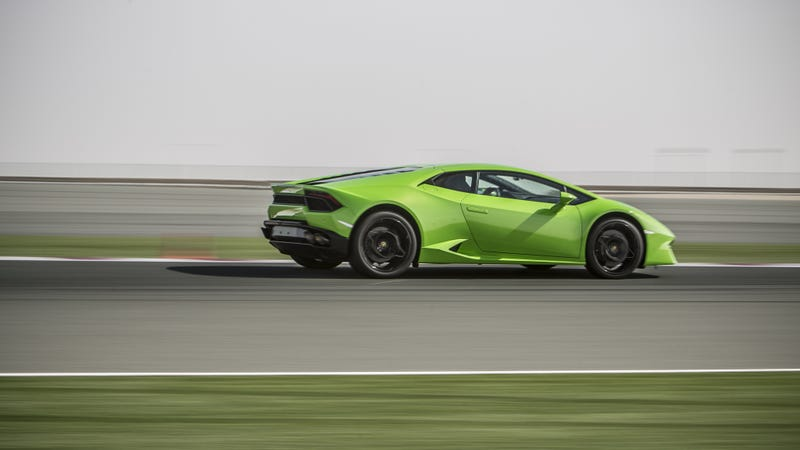 Illustration for article titled The Next Lamborghini Huracan 'Will Need' To Go Hybrid