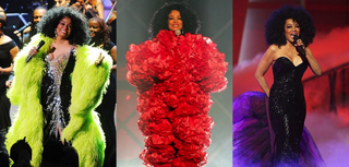 Diana Ross in all her glamorous gloryStephen Lovekin/Getty Images; Kevin Winter/Getty Images; Kevin Winter/Getty Images