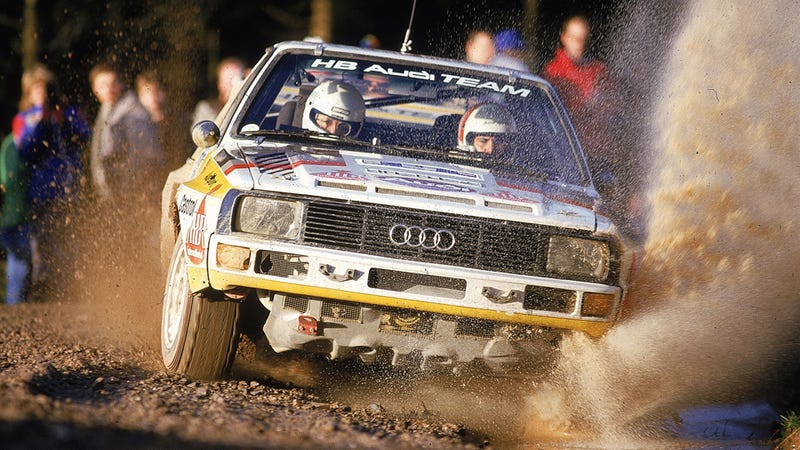 Illustration for article titled COTD: Hell Hath No Fury Like An Audi Quattro Scorned Edition