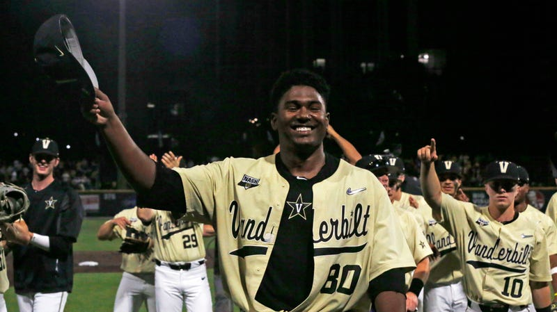 Illustration for article titled Righteous Baseball Dude Kumar Rocker Saves Vanderbilt's Season With 19-Strikeout No-Hitter