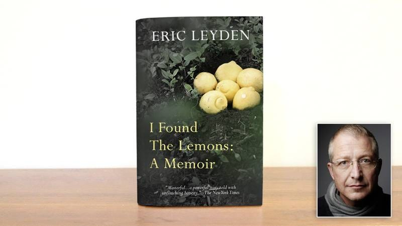 The cover of I 'Found The Lemons: A Memoir' and its author.