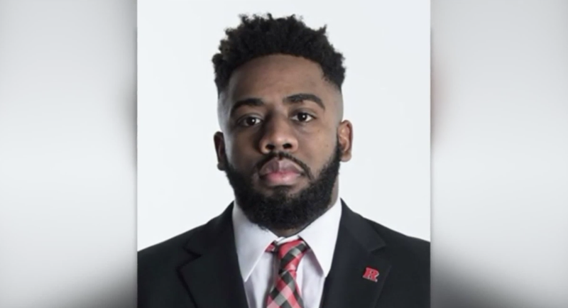 Izala Bullock, the former Rutgers University football player charged in a double-murder plot