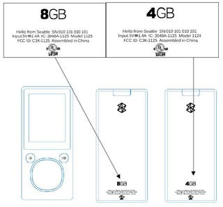 Illustration for article titled Flash Zune Specs Leaked by FCC