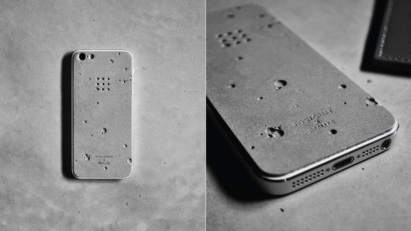 Illustration for article titled Who Wants a Concrete iPhone Skin?