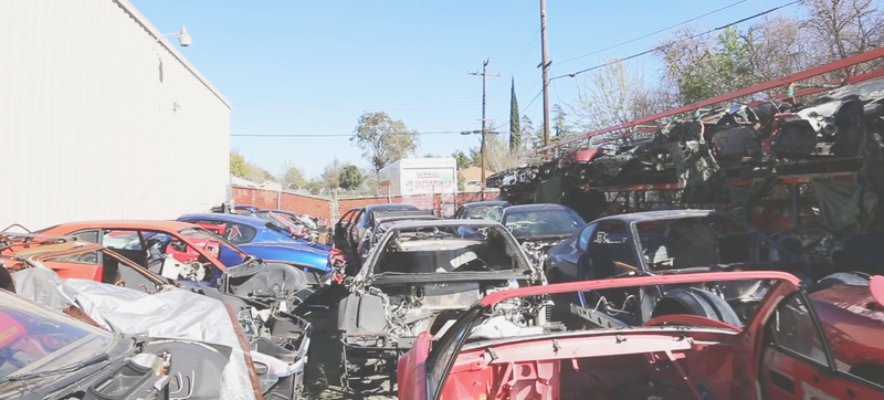 Illustration for article titled Check Out This Incredibly Tragic Supercar Graveyard