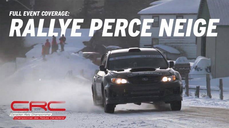 Illustration for article titled Rally Perce Neige: Full Broadcast Coverage