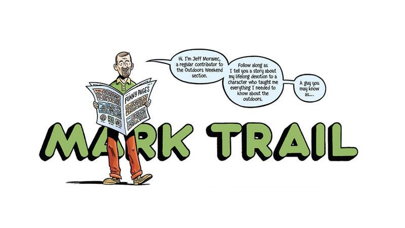 Illustration for article titled Read This: A tribute to the awesomely uncool adventures of Mark Trail