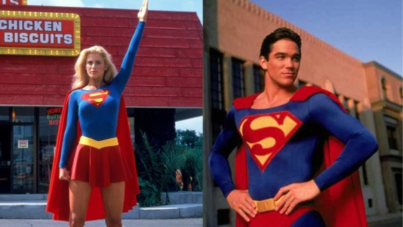 Illustration for article titled CBS's Supergirl adds Dean Cain and Helen Slater