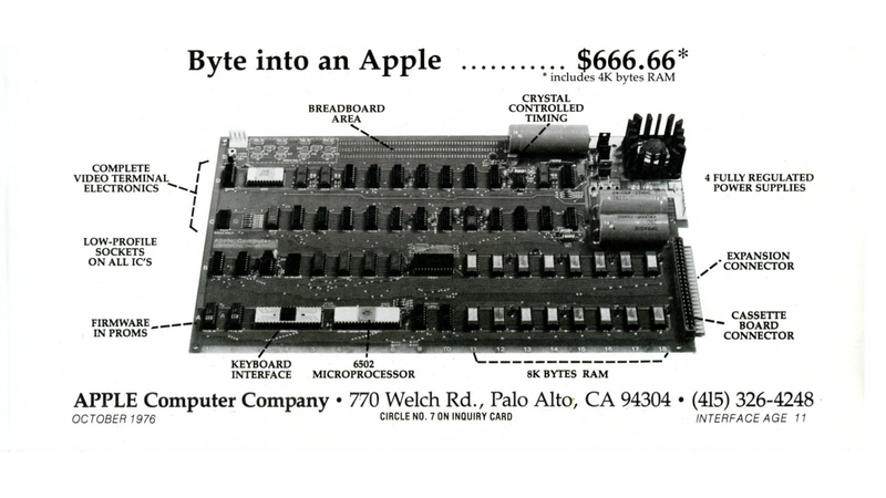 Illustration for article titled A Working Apple I Computer Just Sold For $671,400 at Auction