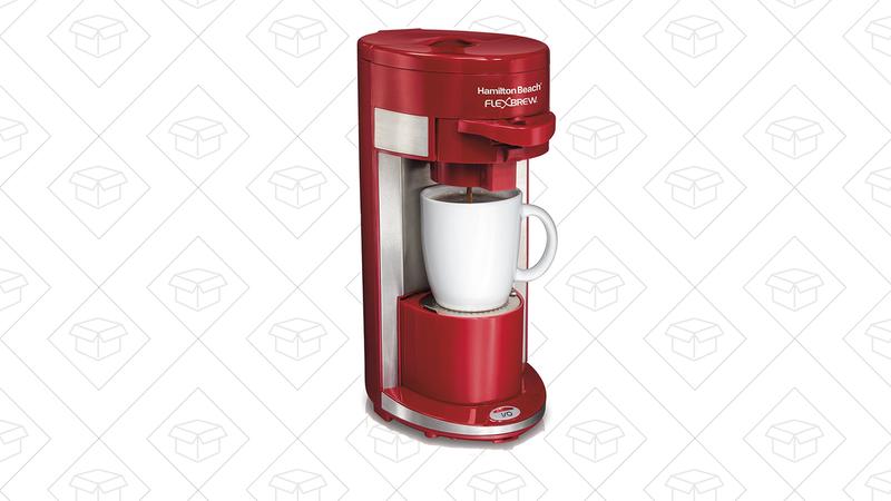Hamilton Beach Single-Serve Coffeemaker, $25