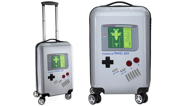 Illustration for article titled All This Game Boy Luggage Needs Is a Konami Code Seat Upgrade