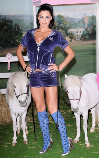 """Illustration for article titled Katie """"Jordan"""" Price's Friends Say Neigh To That Outfit"""