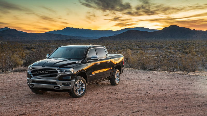 The Ram 1500 Laramie Longhorn, which starts at $50,740.