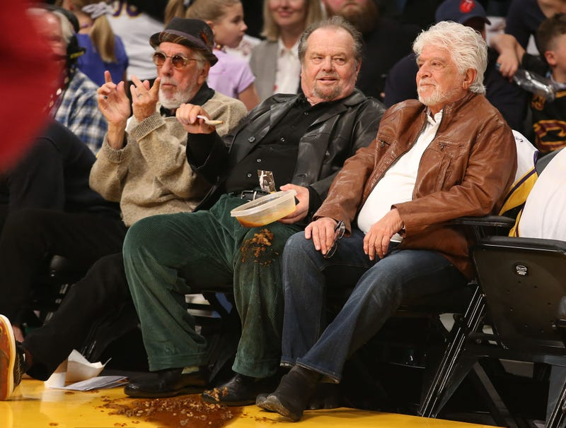 Illustration for article titled Jack Nicholson Banned From Sitting Courtside After Spilling Tupperware Full Of Homemade Chili