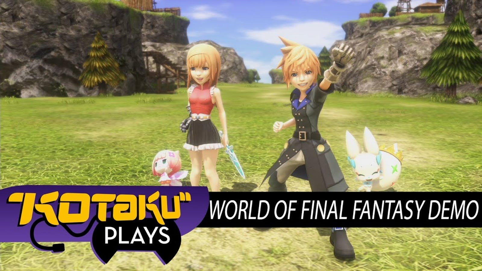 World Of Final Fantasy S Standalone Demo Is Worth Playing