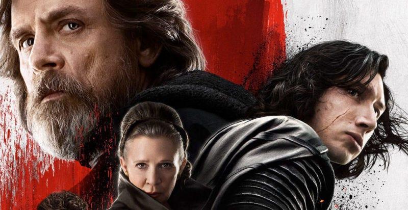 The Last Jedi, la más exitosa de 2017 — Cinta Star Wars