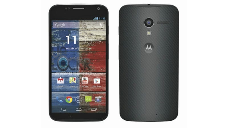 Illustration for article titled These Leaked Moto X Press Images Sure Look Familiar