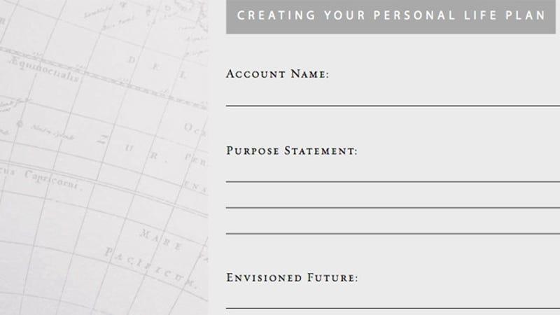 Creating a personal purpose statement – Purpose Statement Template