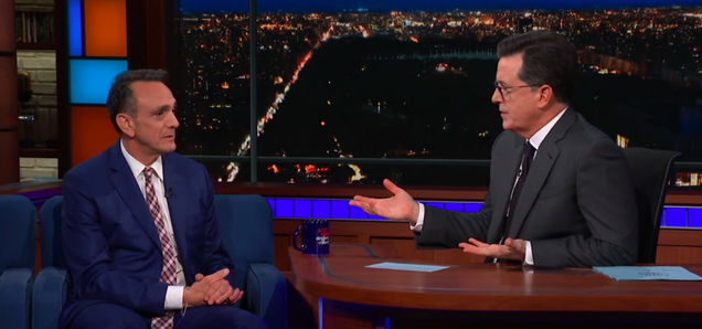 """On The Late Show, Hank Azaria says recasting Apu """"seems like the right thing to do"""""""
