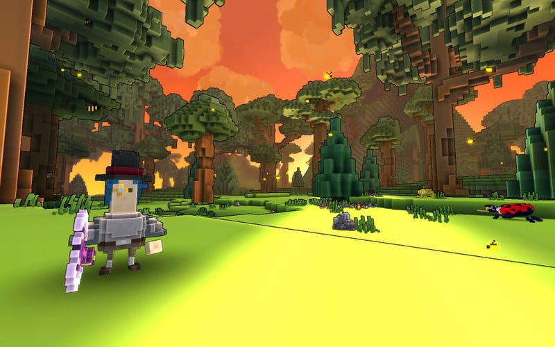 Illustration for article titled Look, Trion Worlds Is Doing The Whole Voxel Thing Now