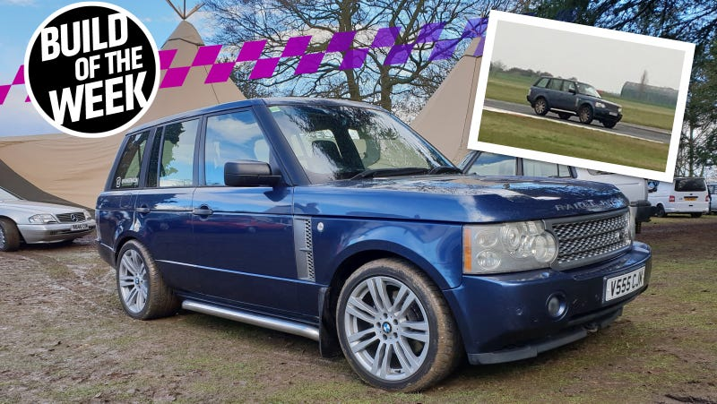 Drunkenly Playing Gran Turismo Inspired This Real Life Range Rover Race Car