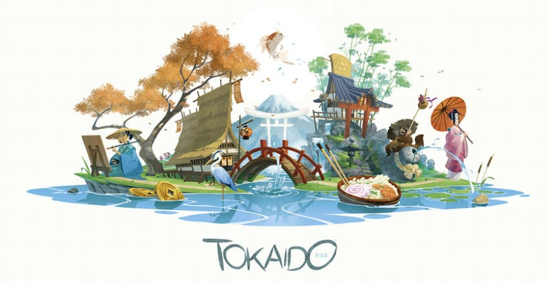 Illustration for article titled Tokaido Is A Beautiful Board Game
