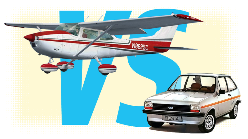 Illustration for article titled Should I Spend $30,000 On A Car Or An Airplane?