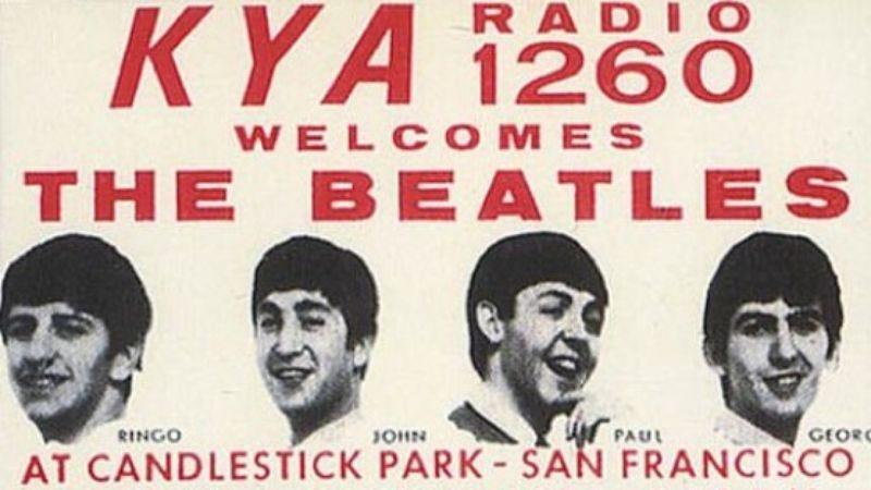 The Beatles at Candlestick Park (Screenshot: YouTube)