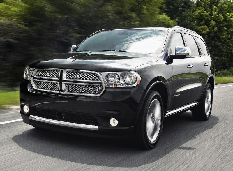Illustration for article titled 2011 Dodge Durango: Three Rows And A Hemi