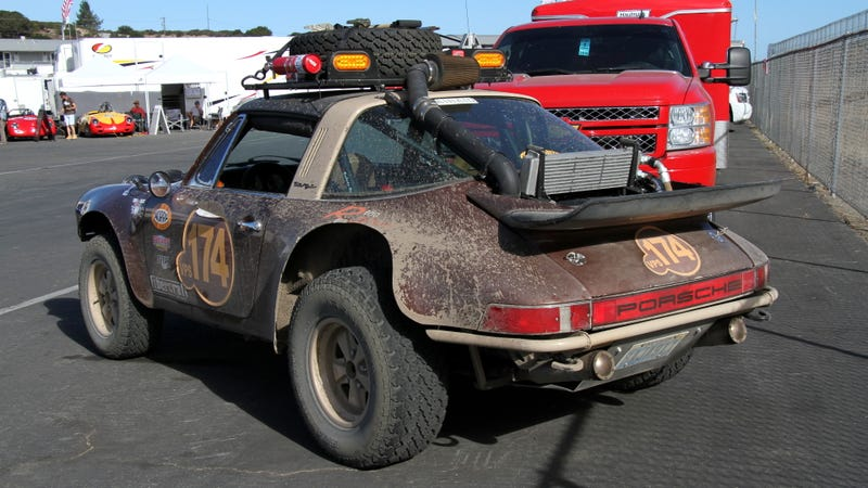 This Mud Splattered 911 Rally Car Was Rennsport Reunion S Best
