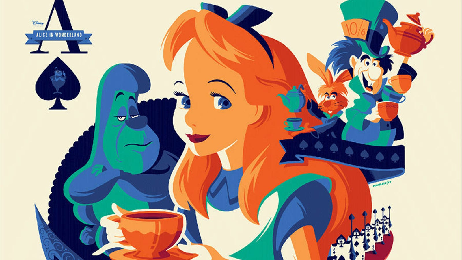 This Beautiful, Classic Disney-Inspired Art Show Is A Time
