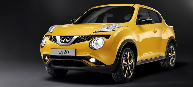 is infiniti getting the nissan juke for china. Black Bedroom Furniture Sets. Home Design Ideas