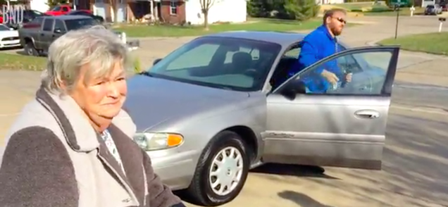 world s kindest repo man pays off elderly couple s buick right before thanksgiving