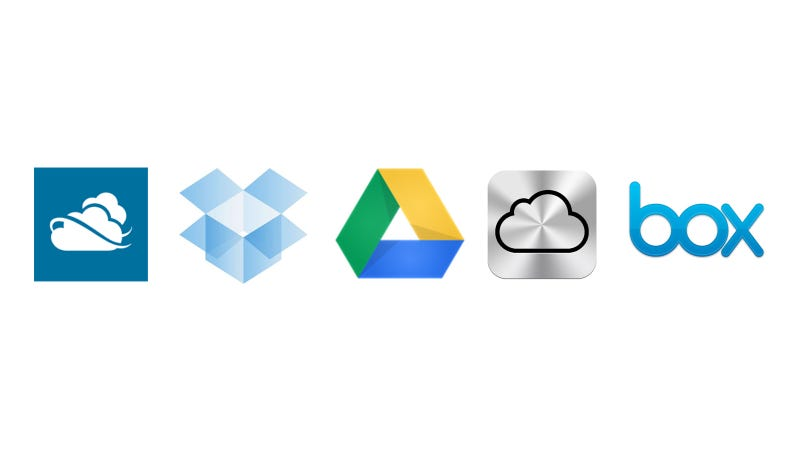 Illustration for article titled Google Drive, iCloud, Dropbox and More Compared: What's the Best Cloud Option?