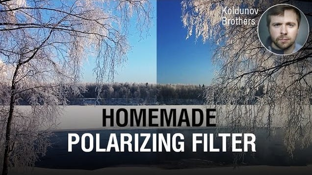 Make a DIY Polarizing Filter From an Old LCD Screen