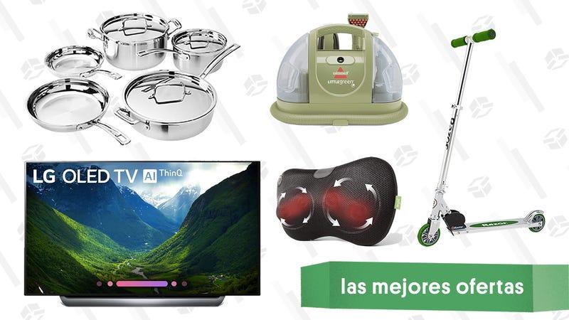 Illustration for article titled Las mejores ofertas de este martes: Rebajas en TVs OLED por Black Friday, Under Armour, scooters y más