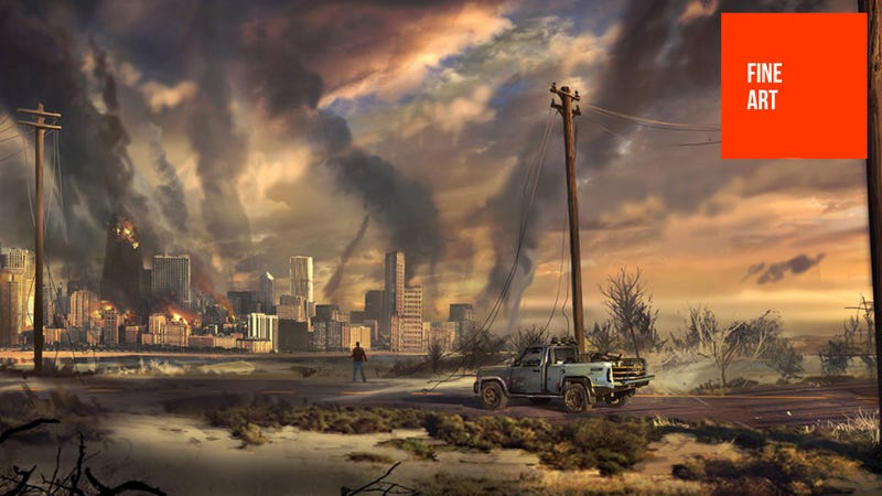 Illustration for article titled It's the End of the World as This Concept Art Knows it