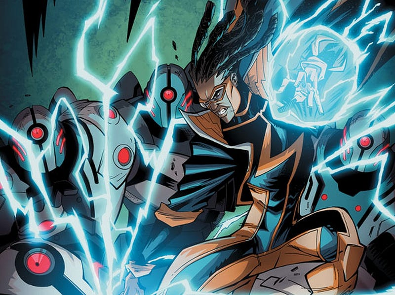 Illustration for article titled Please Let This Static Shock Casting Rumor Be False