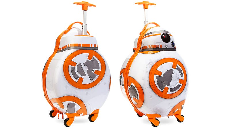 Illustration for article titled Pack This Rolling BB-8 Suitcase For Your Next Trip to Tatooine