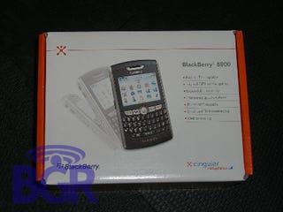 Illustration for article titled Cingular BlackBerry 8800 in Stores