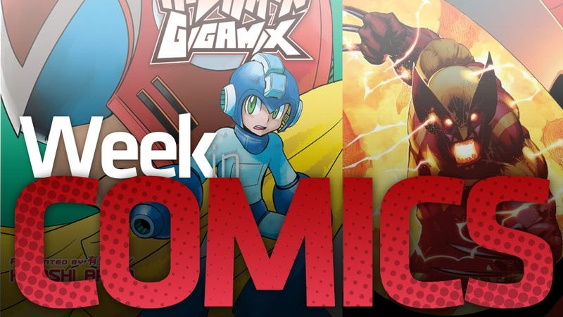 Illustration for article titled Mega Man vs. Wolverine vs. Spider-Man vs. Batman