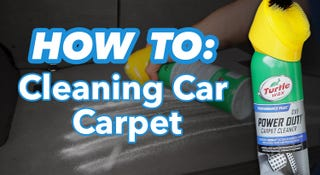 Illustration for article titled How To Clean Car Carpets For Less Than $10