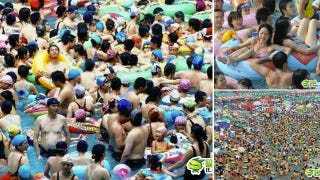 Illustration for article titled China's Swimming Pool Insanity Will Melt Your Mind