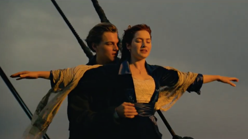TFW you've spent hundreds of dollars for an immersive Titanic theater experience / Screencap via Youtube