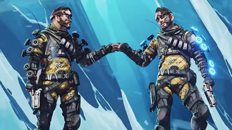 Everyone Loves Shipping Apex Legends' Mirage
